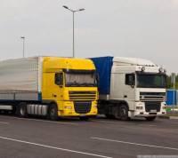 Спецпаркинги для грузовиков появятся перед въездом на МКАД уже весной
