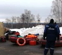 Спасатели МЧС ликвидировали последствия половодья в ТиНАО в ходе учений