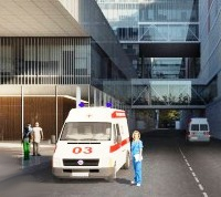 Первую очередь больницы в Коммунарке введут в эксплуатацию до конца года