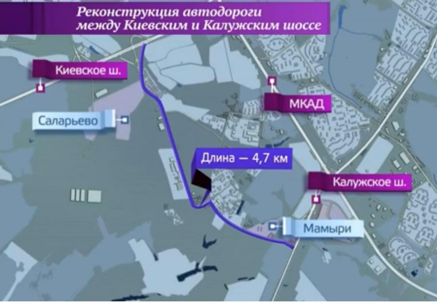 поселок между калужским и киевским шоссе нельзя