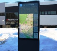 Интерактивная стела с расписанием автобусов может появиться в ТиНАО