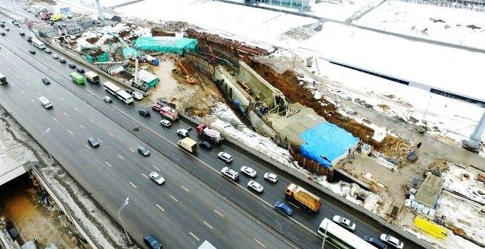 Заведено уголовное дело из-за обрушения тоннеля в «новой Москве»