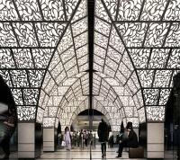 Станцию Новопеределкино украсят «своды» московских палат