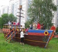 Гигантский корабль-веранду с горками установят в поселении Роговское