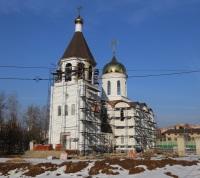 Первая служба пройдет в новом Преображенском храме в Коммунарке на Пасху