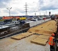Развязка МКАД - Профсоюзная улица заработает в сентябре