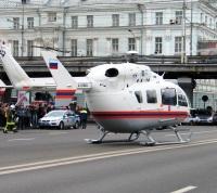 Вертолеты позволяют транспортировать больных из «новой Москвы» за 12 минут
