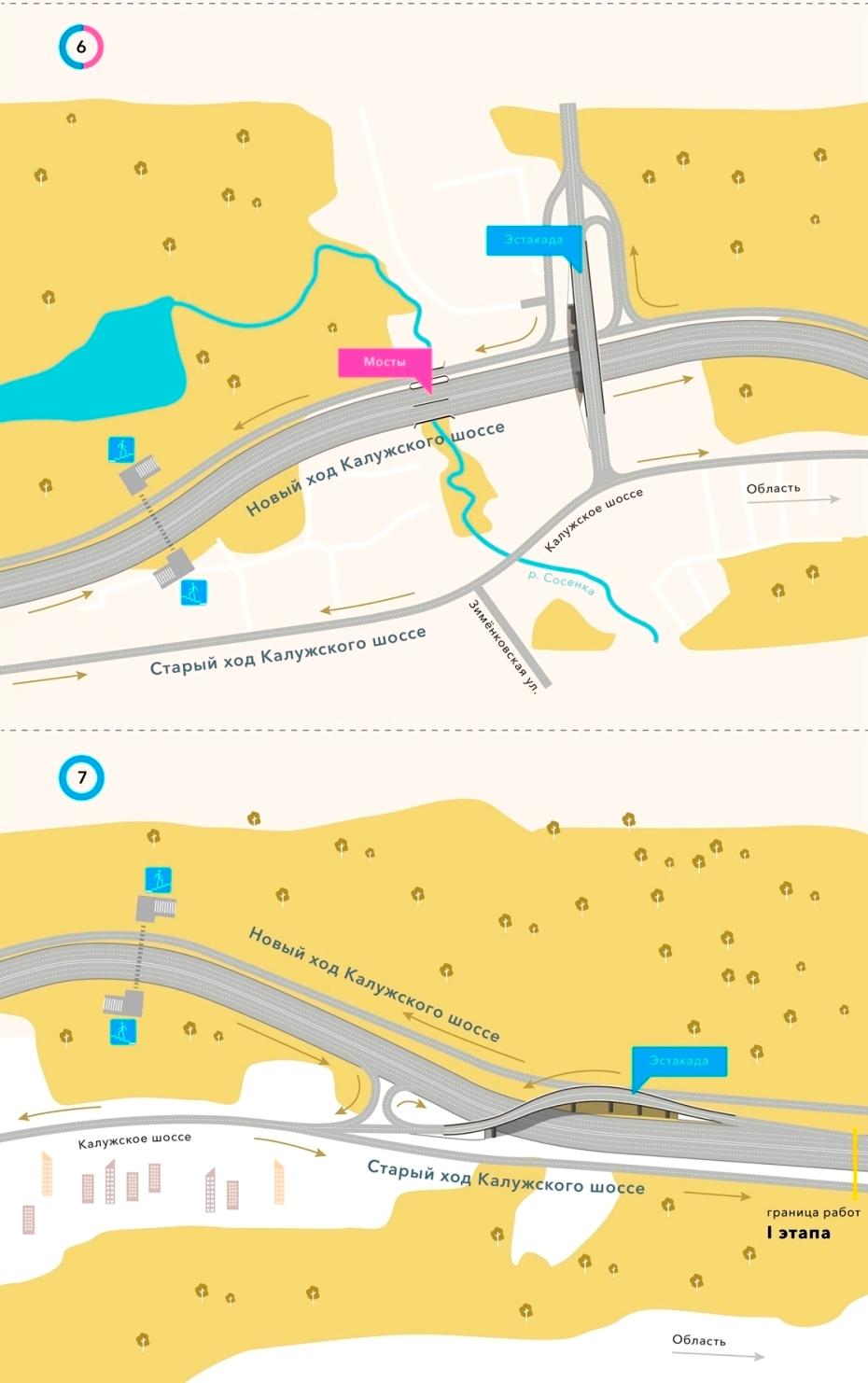 Как изменилось Калужское шоссе