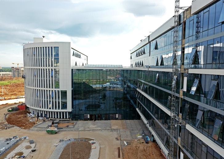 Новое здание префектуры ТиНАО откроется в ноябре