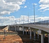 Три путепровода и два моста на Калужском шоссе откроют в этом году