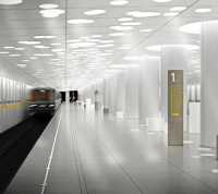 На станции метро «Солнцево» установили эскалаторы