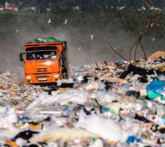 Московская область хочет запретить ввоз мусора из других регионов