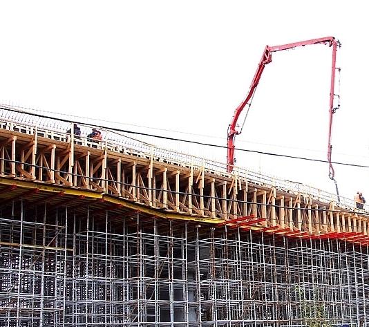 Завершен монтаж основных конструкций левоповоротного путепровода с Калужского шоссе на магистраль Солнцево-Бутово-Видное
