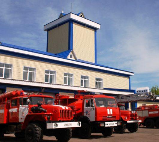 Пожарное депо построят в поселении Кленовое в ТиНАО