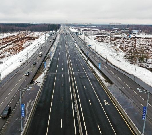Почти 50 километров дорог на территории ТиНАО ввели в эксплуатацию с начала года