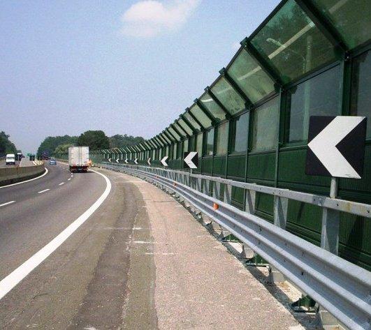 Более 7,5 километров шумозащитных экранов появится на Калужском шоссе