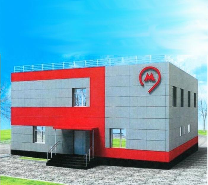 Двухэтажное здание отдыха локомотивных бригад построят у метро «Рассказовка»