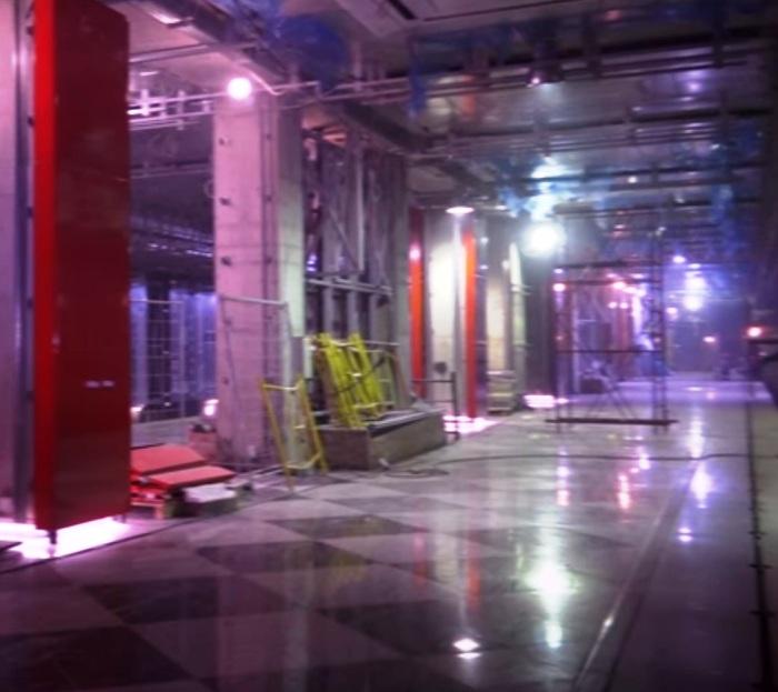 На станции метро «Рассказовка» смонтировали освещение