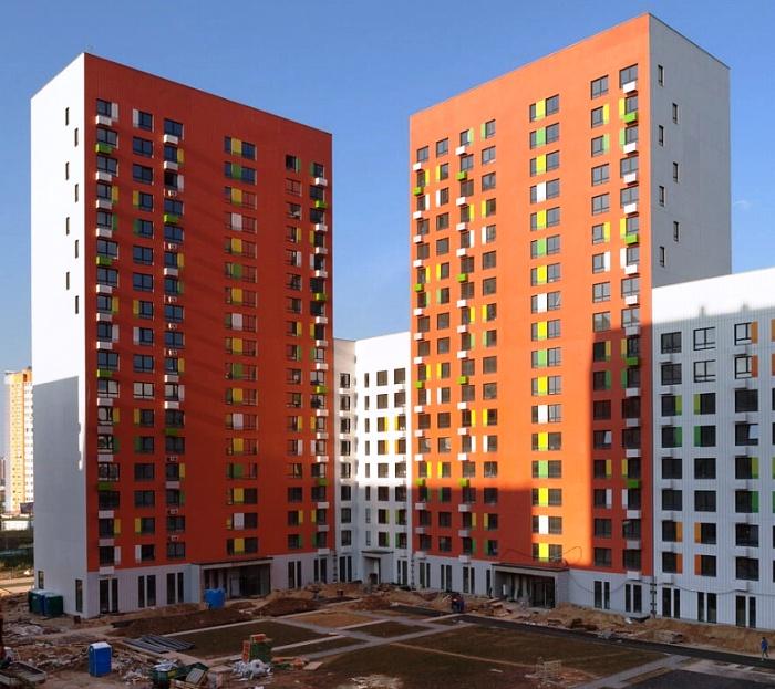 Еще два жилых корпуса построят в составе ЖК «Бунинские луга» в ТиНАО
