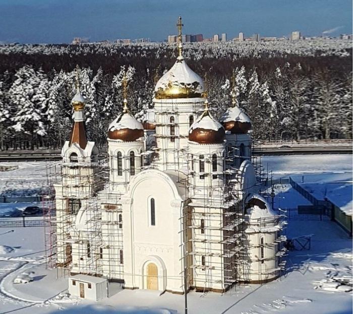 Застройщик храма Александра Невского в ТиНАО получил разрешение на ввод в эксплуатацию