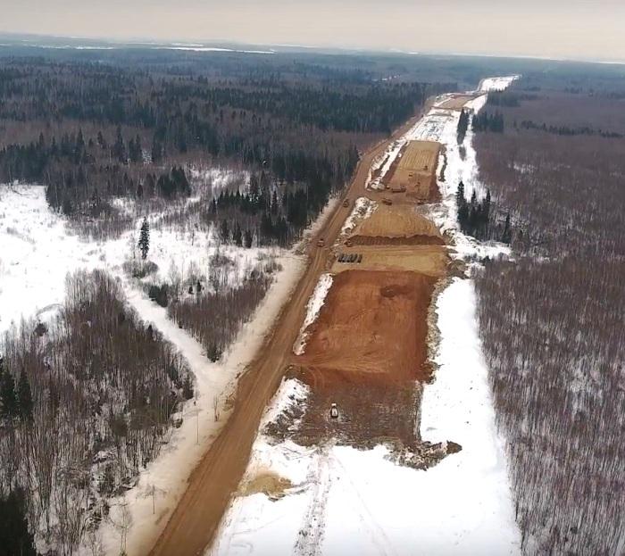 Строительство участка ЦКАД от М4 «Дон» до М1 «Беларусь» планируется завершить в 2019 году