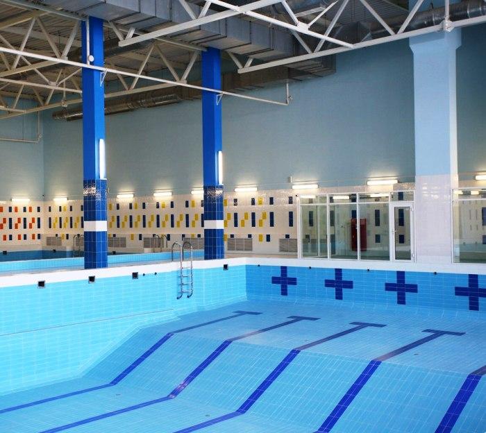 Строительство фитнес-клуба с бассейном в Коммунарке завершено
