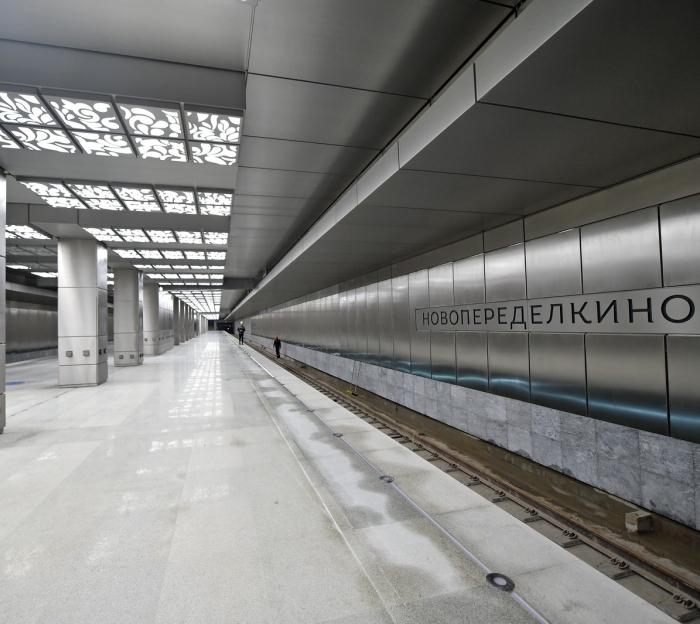 Завершается оформление документов на ввод участка метро до «Рассказовки»