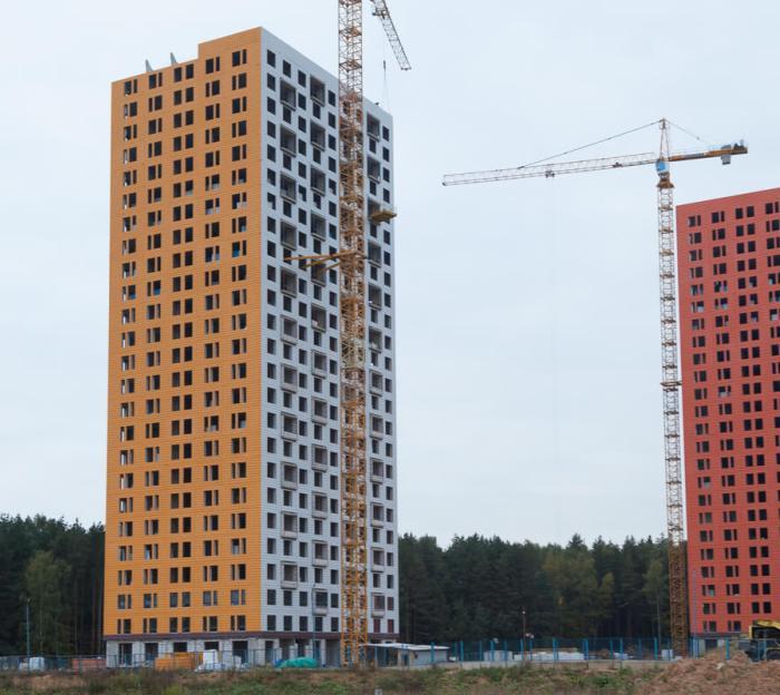 В «новой Москве» выросло предложение квартир