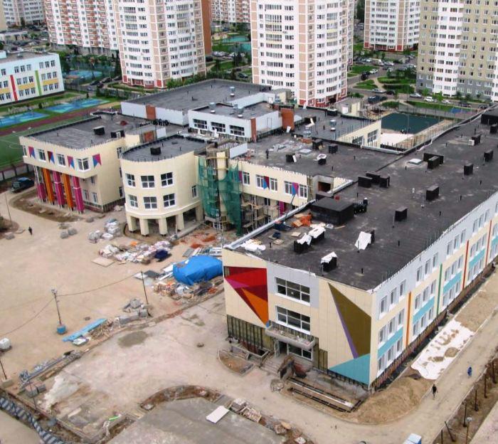 Строительство школы на 775 мест в Московском в ТиНАО завершат до конца лета