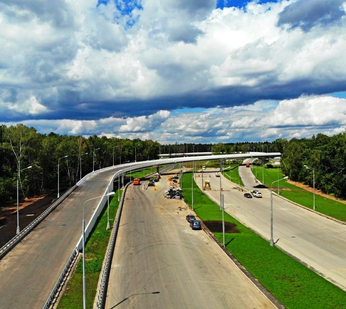 Открыта новая трасса от Киевского до Калужского шоссе