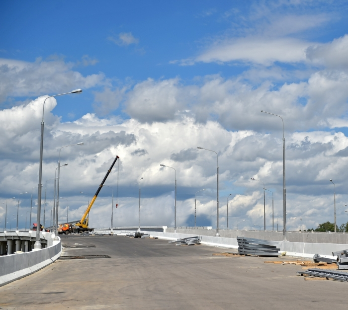 Транспортную развязку на Киевском шоссе реконструируют