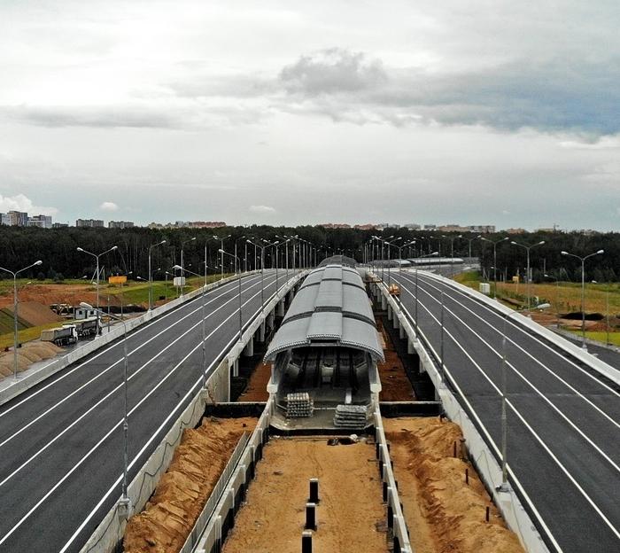 Началась отделка платформы станции метро «Столбово»