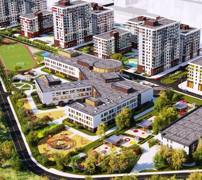 Школу на 1300 мест планируют построить в поселении Сосенское в ТиНАО