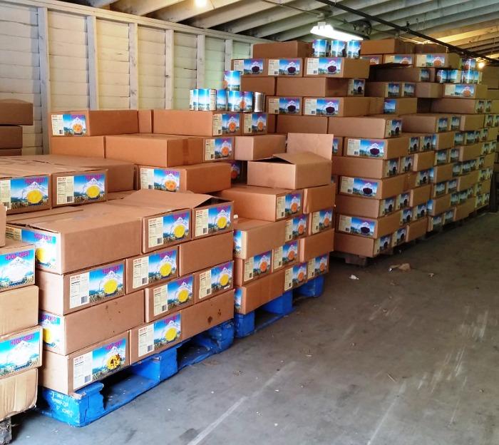 Четыре склада для хранения сельхозпродукции введено в эксплуатацию в ТиНАО