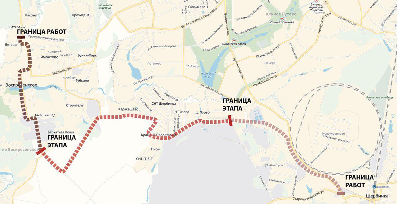 Дорогу Воскресенское – Каракашево – Щербинка начнут строить в этом году