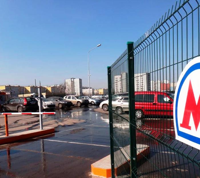 Перехватывающую парковку на 2000 машиномест построили у станции метро «Филатов луг»