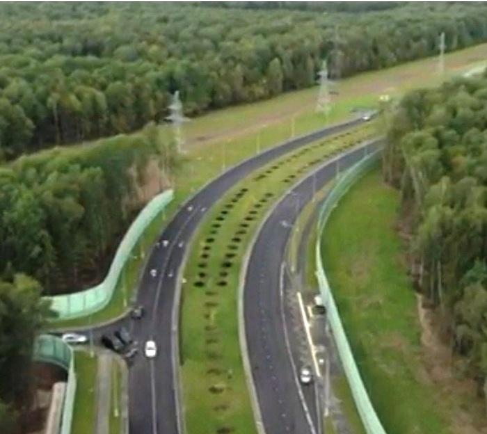 Открыт первый участок новой дороги в ТиНАО, которая свяжет Калужское и Варшавское шоссе