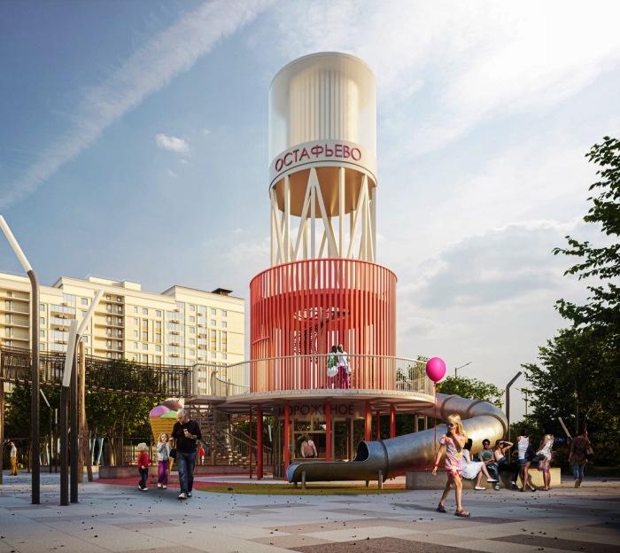 Инвестор ЖК «Остафьево» утвердил концепцию развития общественного пространства
