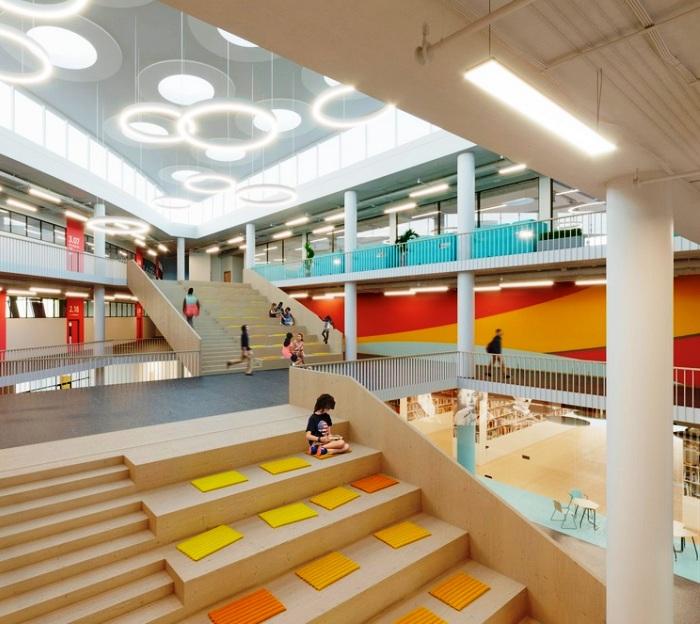 Образовательный центр с трехэтажными амфитеатром построят в ЖК «Испанские кварталы»
