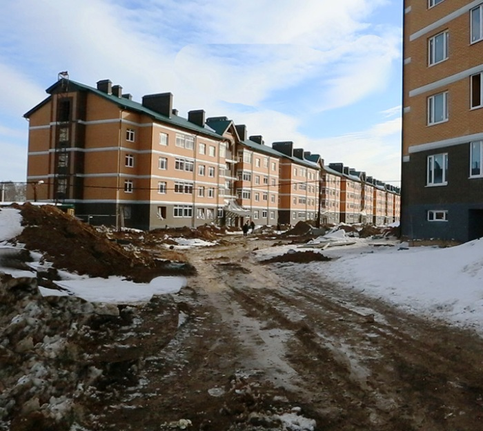 Основные работы по благоустройству в проблемном жилом комплексе «Марьино град» в ТиНАО завершены