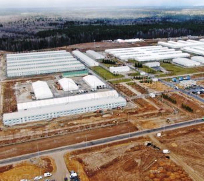 Передовые методы строительства COVID—центра в «новой Москве» позволят ускорить темпы строительства других объектов