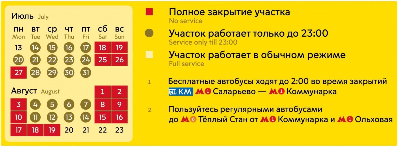 До 20 июля движение в ТиНАО будет частично ограничено