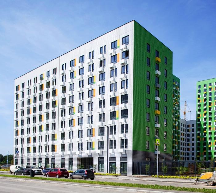 Два дома на 792 квартиры построены в жилом комплексе «Бунинские луга» в ТиНАО