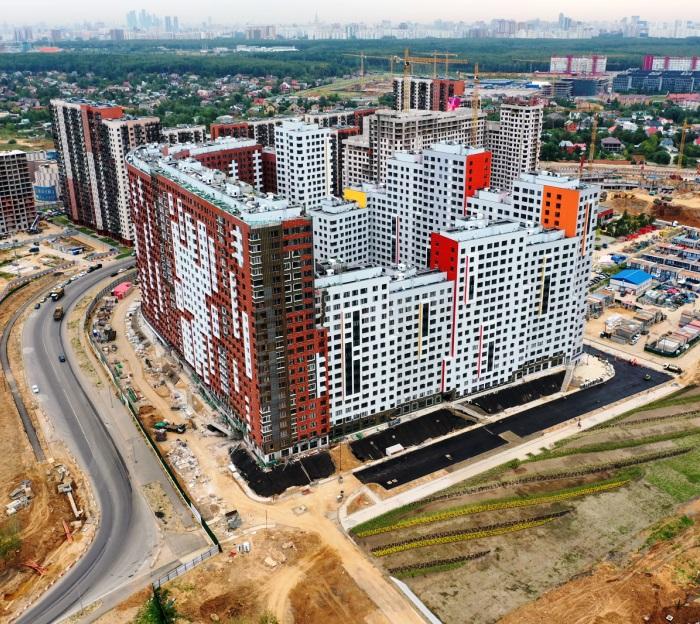 Мосгосстройнадзор проверил ход строительства жилого комплекса «Румянцево парк» в ТиНАО