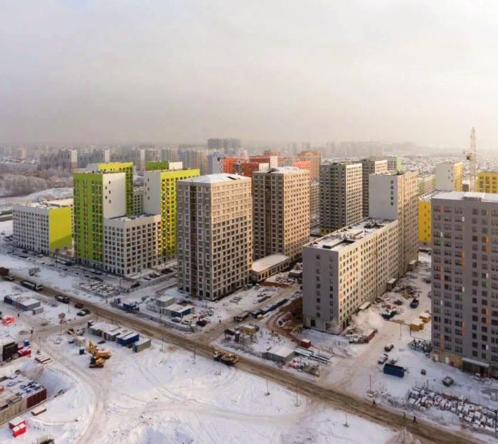 Работы по благоустройству в районе улицы Александры Монаховой в «новой Москве» завершены