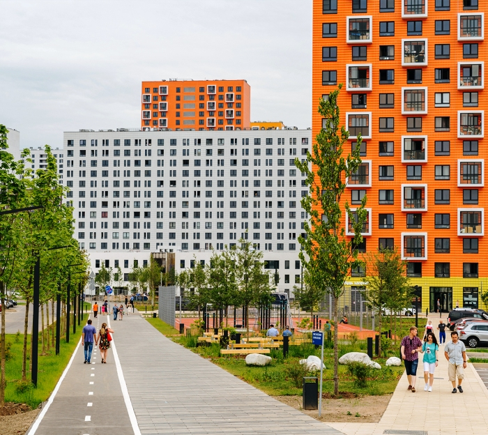 Группа компаний ПИК привлекла к сотрудничеству для разработки проектов британское архитектурное бюро