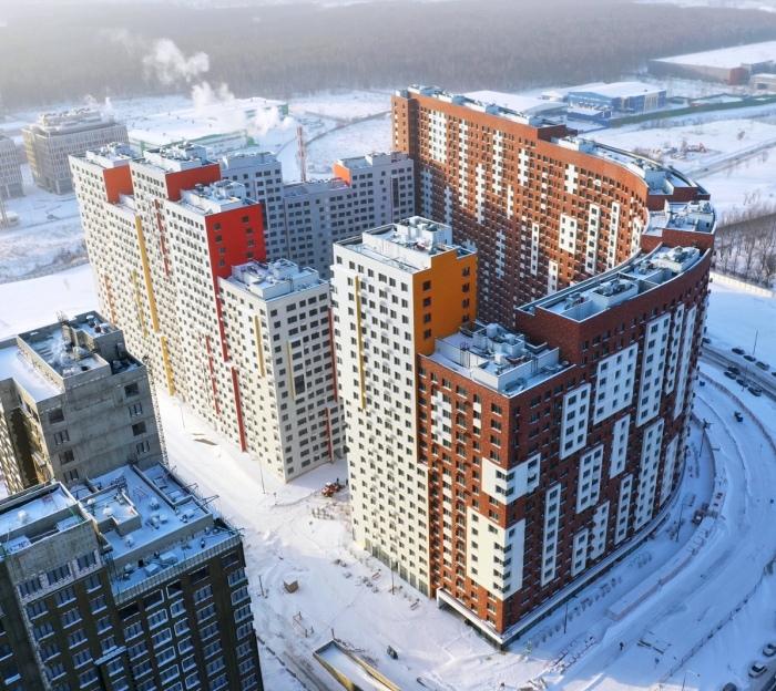 Строительство корпуса в составе ЖК «Румянцево-Парк» завершилось в «новой Москве»