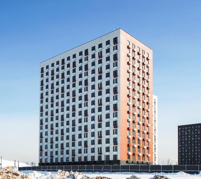 Строительство трех корпусов на 392 квартиры завершили в ЖК «Саларьево-Парк»
