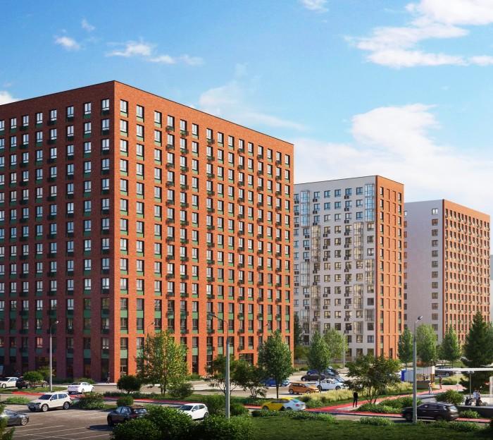 Пять корпусов более чем на тысячу квартир построят в жилом комплексе «Новое Внуково» в «новой Москве»