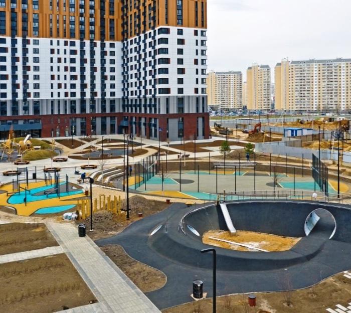 Строительство четырех корпусов на 1227 квартир завершено в ЖК «Первый Московский»